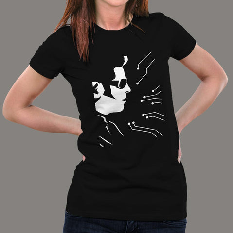 2.0 Rajinikanth tshirt for women Online India