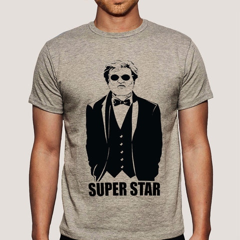 Superstar Rajinikanth Men's T-shirt