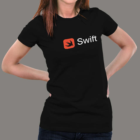 Swift Programming Language T-Shirt For Women online india