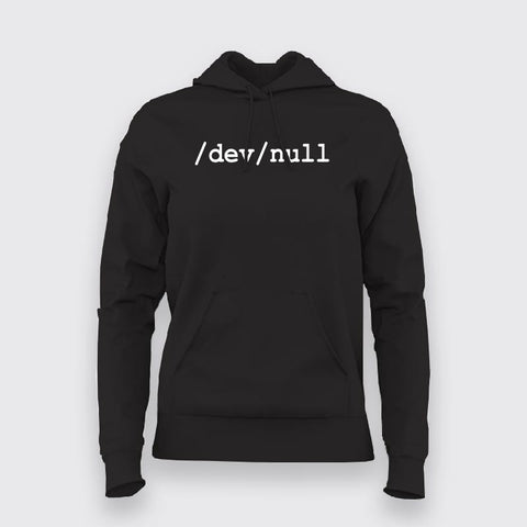 Sysadmin Dev Null Linux Hoodies For Women Online India