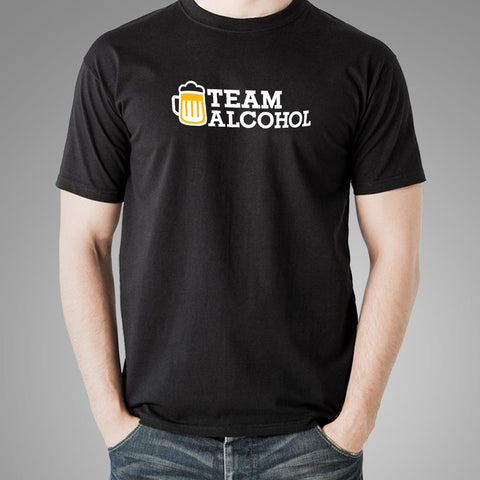 Team Alcohol T-Shirt For Men