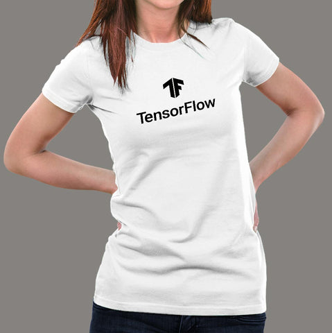 Tensorflow Machine Learning T-Shirt For Women Online India