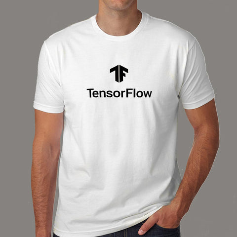 Tensorflow Machine Learning T-Shirt For Men Online India