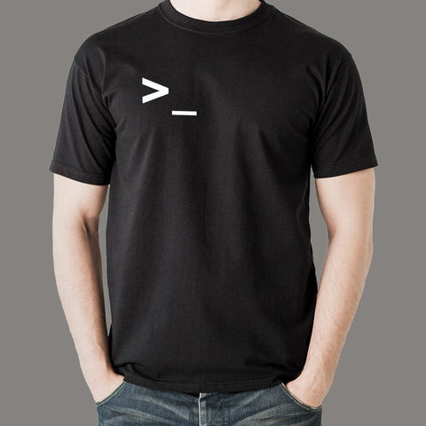 Command Line Programmers/IT & Coding T-shirts For Men in India