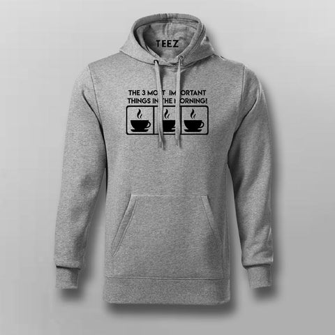 The 3 Most Important Things In The Morning Coffee Lover Hoodies For Men Online India
