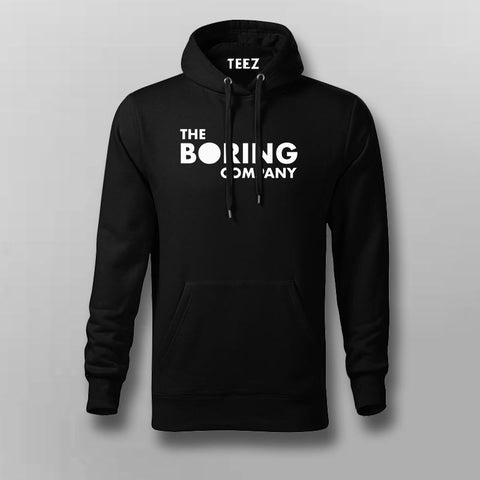 The Boring Company Elon Musk Hoodies For Men Online India