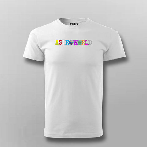 Travis Scott Astroworld T-shirt For Men Online India
