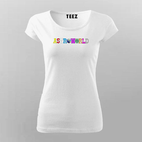 Travis Scott Astroworld T-shirt For Women Online India