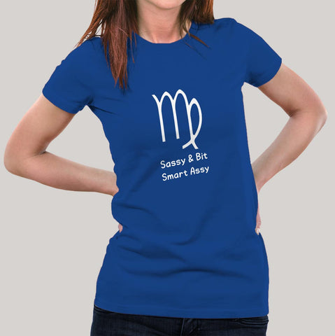 Virgo Zodiac Sign T-shirts For Women India