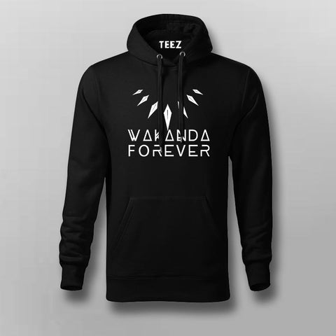 Wakanda Forever Black Panther Hoodies For Men Online India