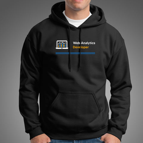 Web Analytics Developer Men's Profession Hoodies Online India