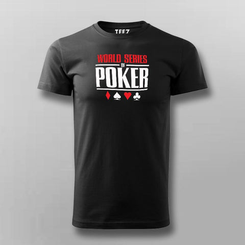 World Series Of Poker T-Shirt For Men