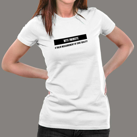 Wtf / Minutes T-Shirt For Women