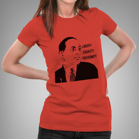 Buy Ambedkar Women T-shirt At Just Rs 349 On Sale! Online India