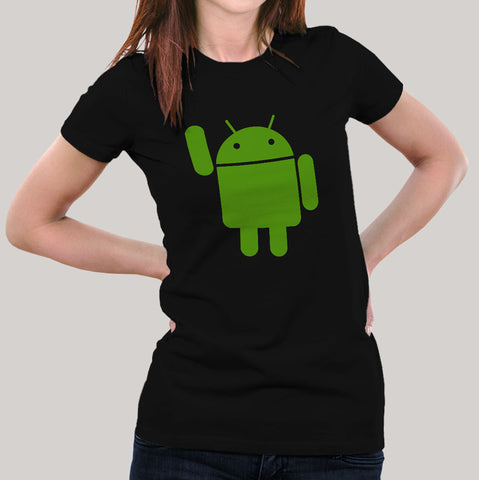 black android tee