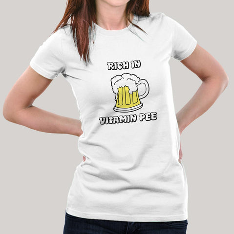 beer pee tshirt india