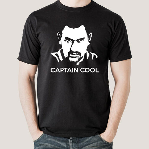 Buy Dhoni Captain Cool Men's T-shirt At Just Rs 349 On Sale! Online India