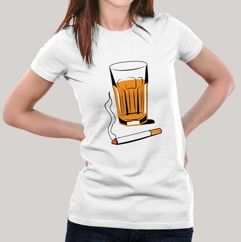 Tea & Cigarette/Chai Sutta Women's T-shirt