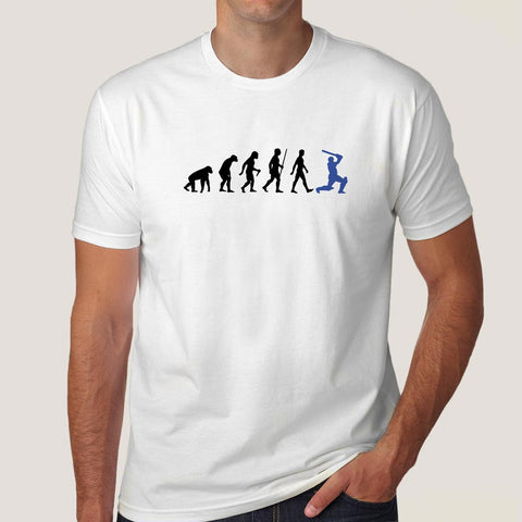 Cric-evolution Batting Men's T-shirt