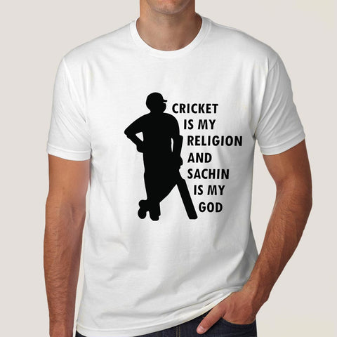 cricket is my religion tshirt india