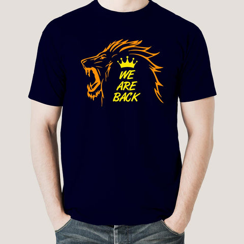 CSK We are back t-shirt online