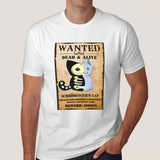 Schrödinger's Cat Wanted Men's T-shirt