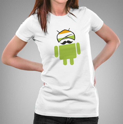 Desi/Indian Android Women's T-shirt