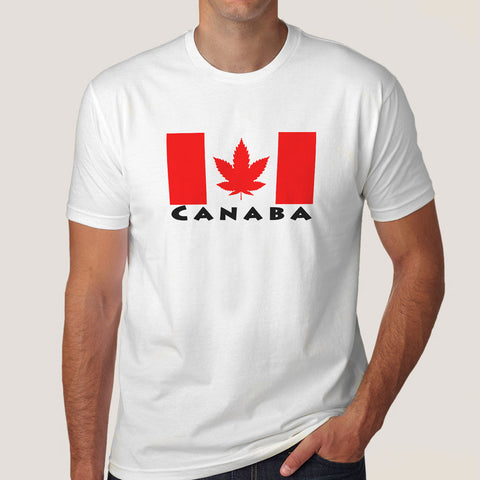 flag of canaba t-shirt india