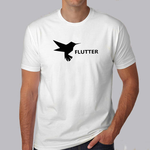 Flutter Bird T-Shirts for Men's