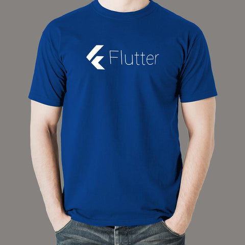 Flutter Men's Programming T-shirt India