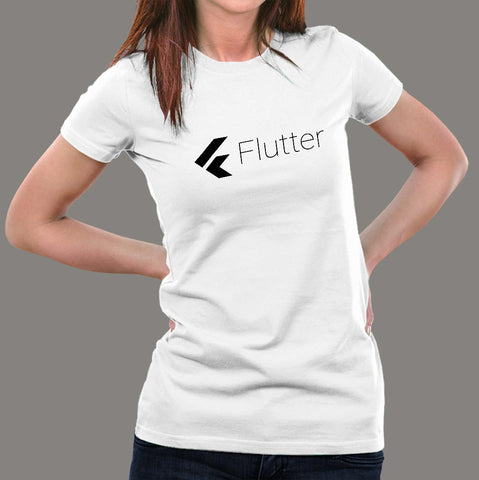 Flutter  Women's Programming T-shirt