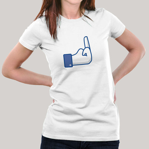 FU Facebook Button Women's T-shirt