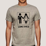Game Over After Marriage - Men's T-shirt