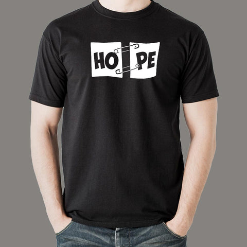 Hope Pin T-Shirt For Men
