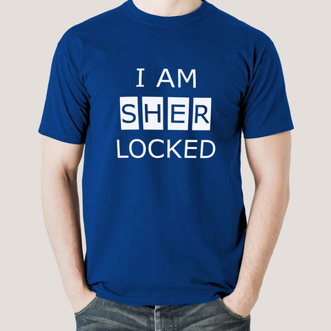 I'm sherlocked t-shirt india