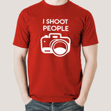 I Shoot People Funny Men's T-shirt