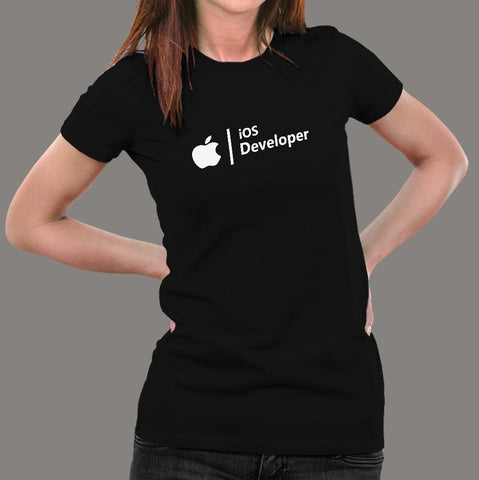 Ios Developer T-Shirt For Women Online India