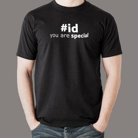 you Are Special #id Men's T-Shirt For Men