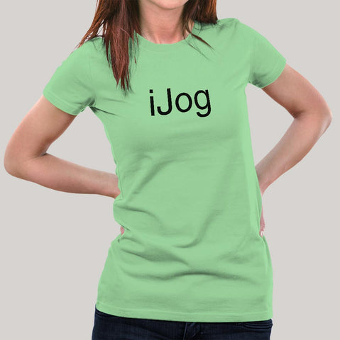 iJog - Jogging Women's T-shirt