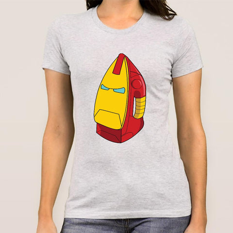 Ironman Ironbox-man Marvel Women's Parody T-shirt