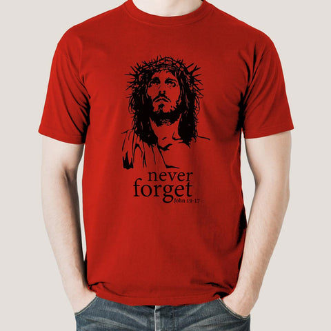 Jesus Crown of Thorns Men's T-shirt