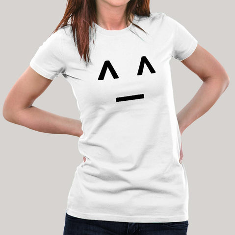 smiley t-shirt women india