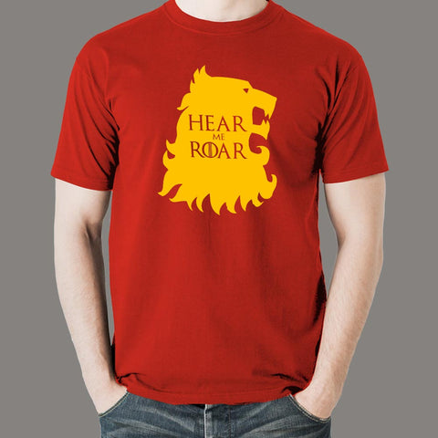 Hear Me Roar GOT House Lannister T-Shirt For Men online india