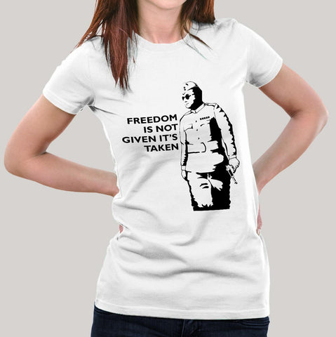 Netaji Women's T-shirt