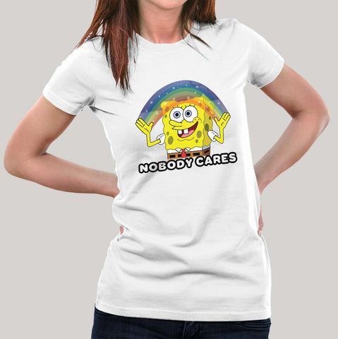 Nobody Cares - Attitude Women's T-shirt