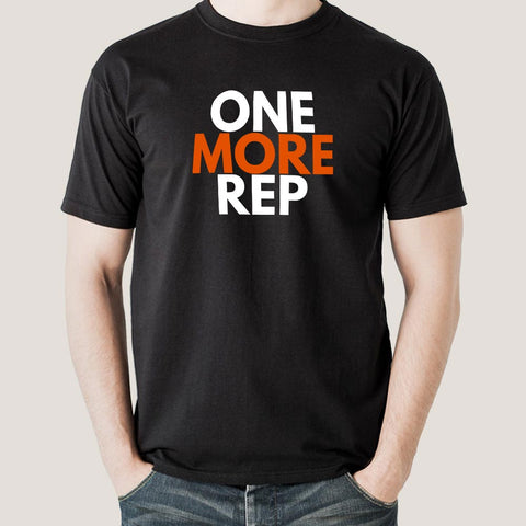 One More Rep Gym - Motivational Men's T-shirt