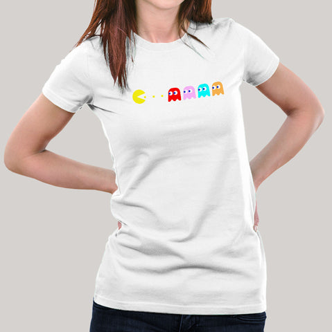 Pac-man gaming t-shirt