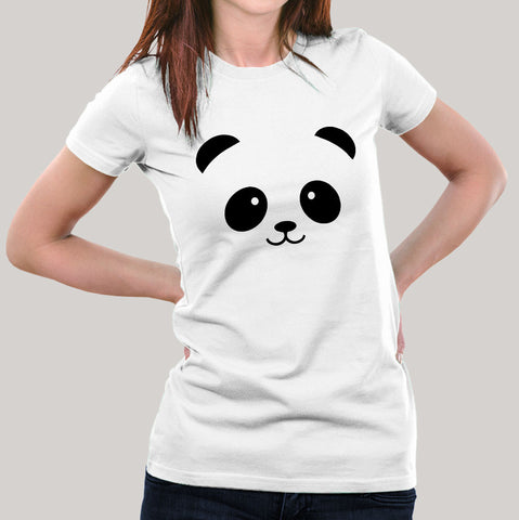 7609c5263d44a Panda Face Women's T-shirt