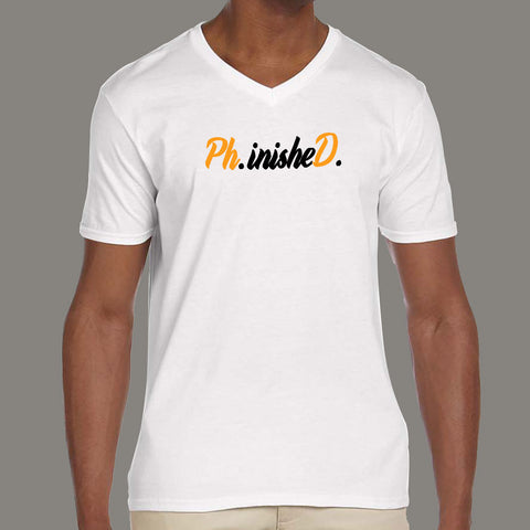 9211a65e84 Phinished Phd Funny Doctorate Graduation T-Shirt For Men – TEEZ.in