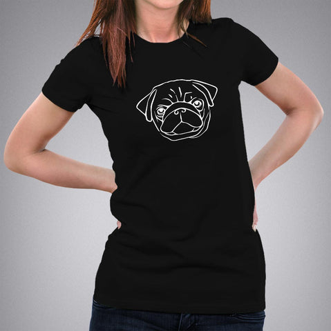 pug life t shirt india online